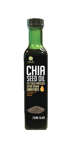 Picture of BR Naturals Chia Seed Oil Extra Virgin, 250 ml