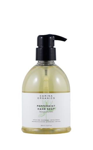 Picture of Carina Organics Carina Organics Hand Soap, Peppermint 360ml