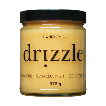 Picture of Drizzle Honey Honey Golden Raw Honey, 375g