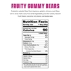 Picture of SmartSweets Fruity Gummy Bears, 12x50g