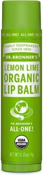 Picture of  Dr. Bronner's Lip Balm, Lemon Lime 4g