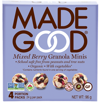 Picture of  Mixed Berry Granola Minis, 6x4x24g
