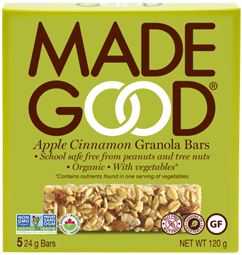 Picture of  Apple Cinnamon Granola Bars, 6x5x24g