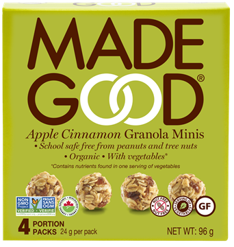 Picture of  Apple Cinnamon Granola Minis, 6 Boxes, 4x24g