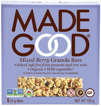 Picture of  Mixed Berry Granola Bars, 6 Boxes 5x24g