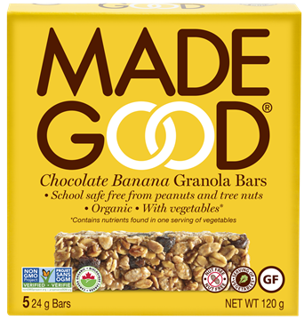 Picture of  Chocolate Banana Granola Bars, 6 Boxes 5x24g