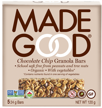 Picture of Made Good Chocolate Chip Granola Bars, Case of 6, 5x24g