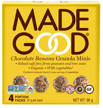 Picture of  Chocolate Banana Granola Minis, 6 Boxes, 4x24g