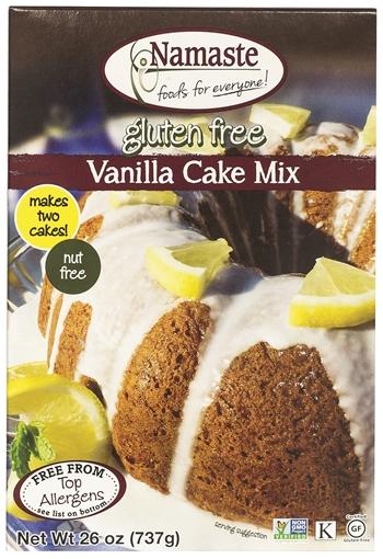 Picture of Namaste Foods Namaste Foods Gluten Free Vanilla Cake Mix, 737g
