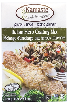 Picture of Namaste Foods Namaste Foods Gluten Free Italian Herb Coating Mix, 170g