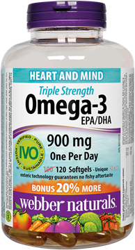 Picture of  Triple Strength Omega-3, 120 Softgels