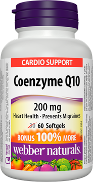 Picture of  Coenzyme Q10, 60 Capsules