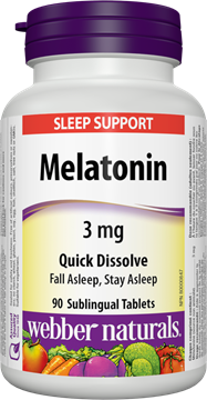 Picture of  Melatonin, 90 Sublingual Tablets
