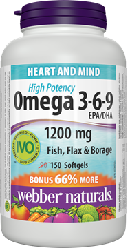 Picture of  Omega 3-6-9 High Potency, 150 Softgels