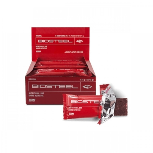 Picture of BioSteel Nutritional Protein Bar, Original 15x45g