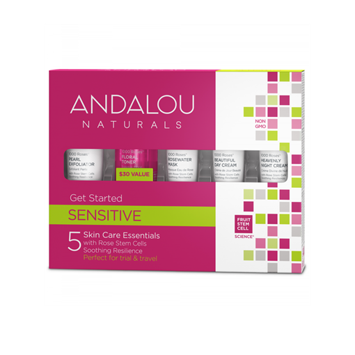 Picture of Andalou Naturals Andalou Naturals 1000 Roses Get Started Kit, 5 Pack Set