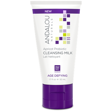 Picture of  Andalou Naturals Apricot Probiotic Travel Cleansing Milk, 50ml