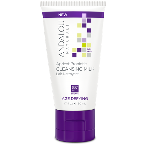 Picture of Andalou Naturals Andalou Naturals Apricot Probiotic Travel Cleansing Milk, 50ml