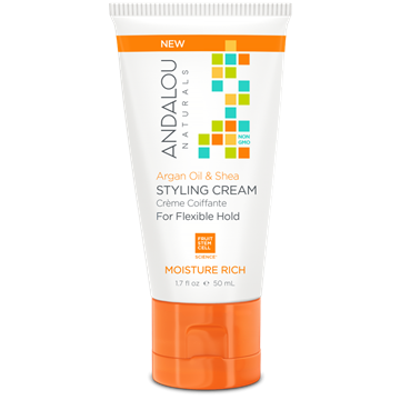 Picture of  Andalou Naturals Travel Style Cream, Argan Oil & Shea 50ml