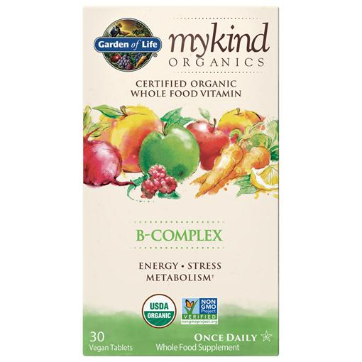 Picture of Garden of Life mykind Organics B-Complex, 30 Count