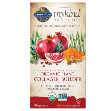Picture of  mykind Organics Plant Collagen Builder, 60 Count