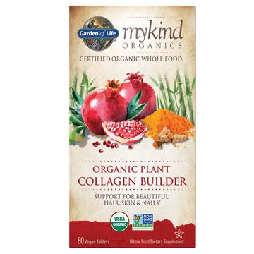 Picture of Garden of Life mykind Organics Plant Collagen Builder, 60 Count