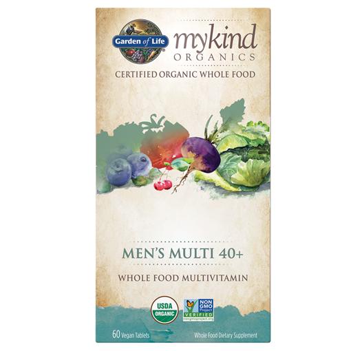 Picture of Garden of Life mykind Organics Men's Multi 40+, 60 Count