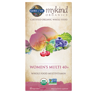 Picture of  mykind Organics Women's Multi 40+, 60 Count