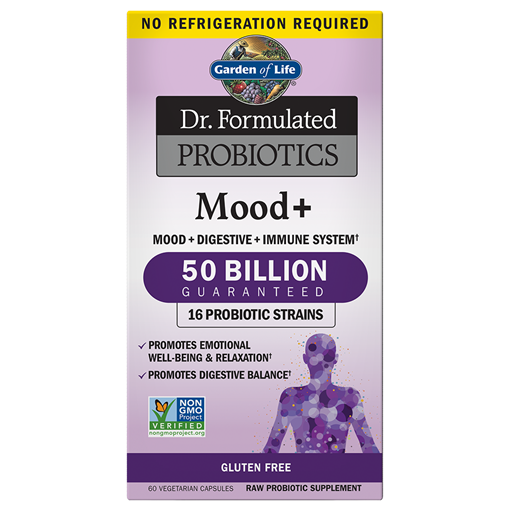 Picture of Garden of Life Garden of Life Probiotics Mood+ 50 Billion CFU Shelf Stable, 60 Count