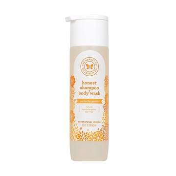 Picture of The Honest Company Shampoo & Body Wash Sweet Orange Vanilla, 296ml