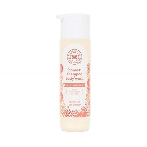 Picture of The Honest Company Shampoo & Body Wash Apricot Kiss, 296ml