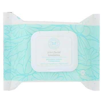 Picture of The Honest Company The Honest Company 3-in-1 Facial Towelettes, 30 Count