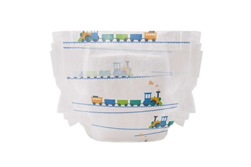 Picture of  Diaper Size 3, Trains, 34 Count