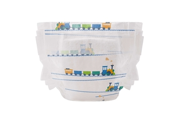 Picture of The Honest Company Diaper Size 5, Trains, 25 Count