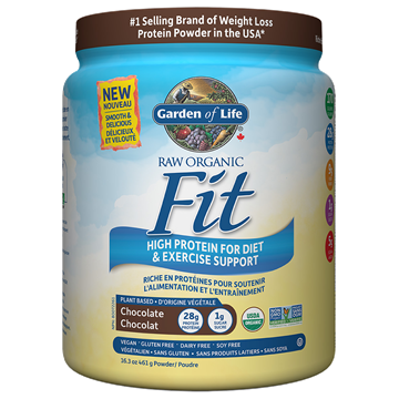Picture of  Raw Organic Fit Protein Chocolate, 461g