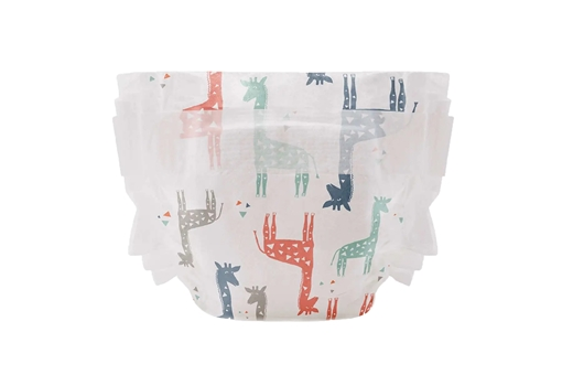 Picture of The Honest Company Diaper Size 3, Multi-Coloured Giraffes, 34 Count