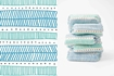 Picture of The Honest Company Diaper Size 5, Teal Tribal, 25 Count