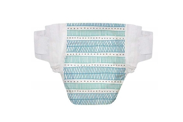 Picture of  Diaper Size 5, Teal Tribal, 25 Count