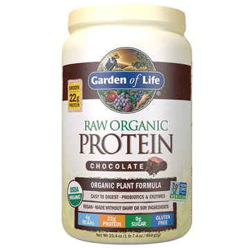 Picture of  Raw Organic Protein Powder Chocolate, 664g