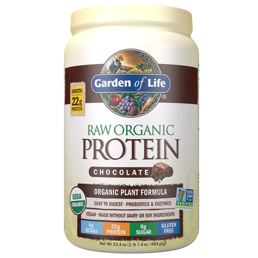 Picture of Garden of Life Raw Organic Protein Powder Chocolate, 664g