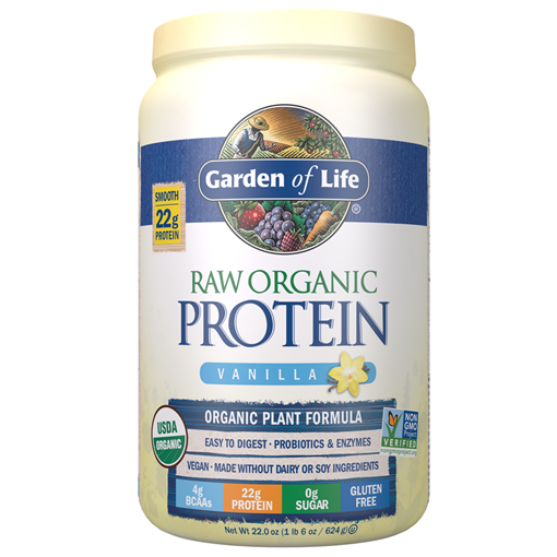 Picture of Garden of Life Raw Organic Protein Powder Vanilla, 624g