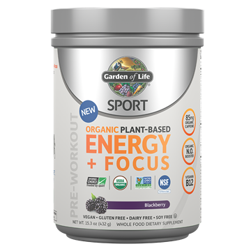 Picture of  Organic Plant-Based Energy + Focus Blackberry, 432g