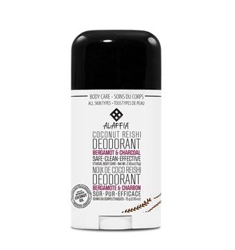 Picture of  Alaffia Coconut Reishi Deodorant, Bergamot & Charcoal 75g