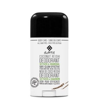 Picture of  Alaffia Coconut Reishi Deodorant, Vetiver & Charcoal 75g