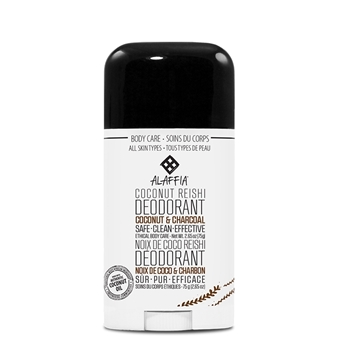 Picture of  Alaffia Coconut Reishi Deodorant, Coconut & Charcoal 75g