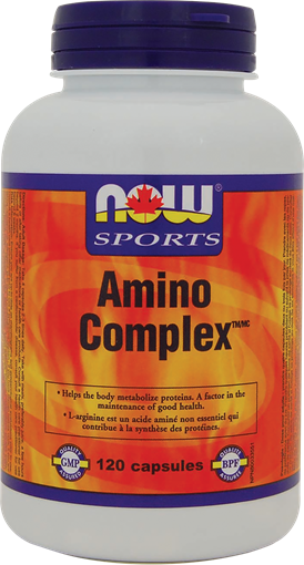Picture of NOW Foods NOW Foods  Amino Complex, 120 Capsules