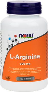 Picture of  L-Arginine 500mg, 100 Capsules