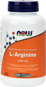Picture of NOW Foods L-Arginine 1000mg, 120 Tablets