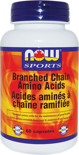 Picture of NOW Foods NOW Foods Branched Chain Amino Acids, 60 Capsules