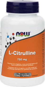Picture of  L-Citrulline 750mg, 90 Veg Capsules